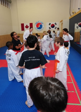Live in class with Orleans Taekwondo