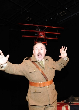 Plosive Productions\' production of Billy Bishop Goes to War