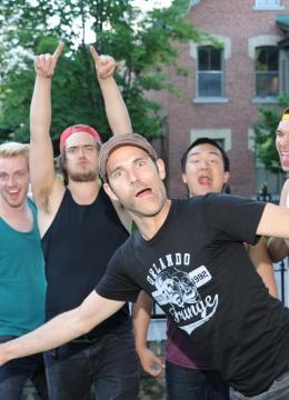 Promo shoot for the 2013 Ottawa Fringe Festival: Be A Man