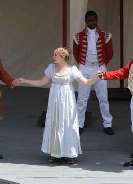 Live performance of the St. Lawrence Shakespeare Festival\'s Othello